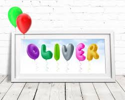personalised gifts ideas balloon