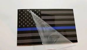 Collectibles Historical Memorabilia Historical Memorabilia Thin Blue Line American Flag Magnet Large Size 5x8 Inch Decal For Car Or Truck Zsco Iq