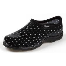 sloggers women s polka dot garden shoes