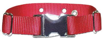 Metal Clasp Nylon Replacement Collar For Invisible Fence R21 Or R22 Or R51
