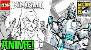 Ninjago Anime Series Revealed! (SDCC) - YouTube