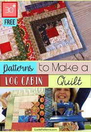 free patterns to make a log cabin quilt