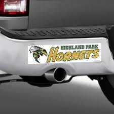Hp Hornets Window Decals Bumper Stickers