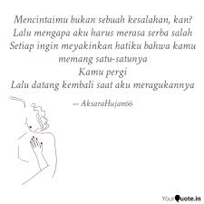 mencintaimu bukan sebuah quotes writings by neng mosda