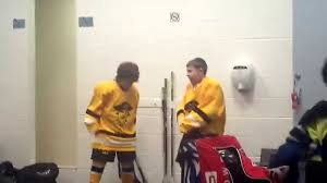 Kids Hockey Pre Game Locker Room Dance Youtube