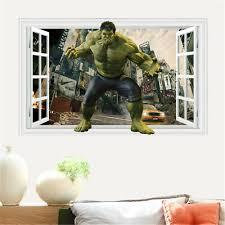 The Incredible Green Hulk Avenger Wall Sticker Decal Decor Art Mural Marvel Wc53