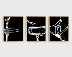 Drum Wall Art Etsy