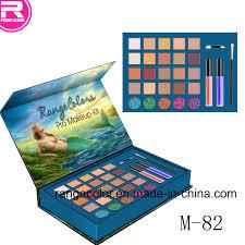 china mermaid makeup gift box 25 color