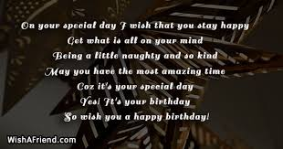 on your special day i wish birthday greetings quote