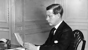 Edward VIII believed the monarchy had no future