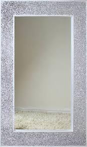mosaic mirror 50 x 120cm framed