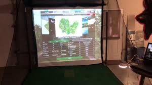 diy skytrak home golf simulator you