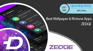 best wallpaper ringtone apps zedge