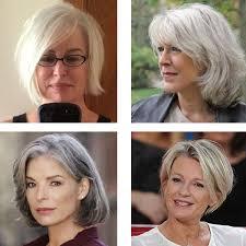 korte grijze kapsels 2019 dames 50