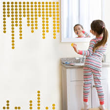Buy Gold Wall Decals Polka Dots Wall Stickers Vinyl Round Circle Art Stickers Removable Metallic Hanging Decor Decorations For Nursery Room 200 Circles In Cheap Price On M Alibaba Com