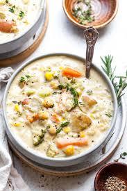 Creamy Vegetable Soup (Vegan)