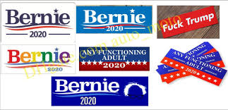 2020 Hot Styles Against Trump Bernie Joe Biden Bernie Sanders Car Stickers 7 6 22 9cm Bumper Sticker Flag Decal For Car Styling Vehicle Paster From Auto Moto 0 09 Dhgate Com