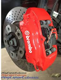 Brembo Caliper Decal Set Vinylsportclassic