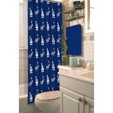 Mlb Los Angeles Dodgers 72 X 72 Shower Curtain 1 Each Walmart Com Walmart Com