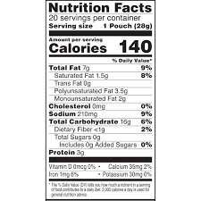 cheez its food label