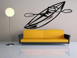 Boat Decal Oars Sticker Sport Wall Art Boat Vinyl Sticker Etsy