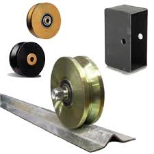 Slide Gate Hardware Guide Rollers Gate Catchers V Groove Wheels Chain Wheel Boxes Cantilever Gate Hardware Overhead Barn Door Style Hardware
