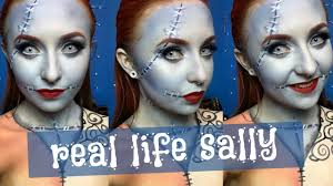 real life sally makeup tutorial