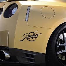 2020 Personality Creative Kimber Vinyl Decal Car Truck Window Sticker 2nd Amendment Pistol Gun Auto From Xymy797 3 42 Dhgate Com