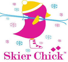 Skier Chick Car Decal Clear Vinyl Backing The Chicks Company