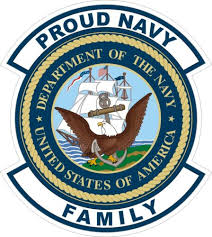 U S Navy Proud Navy Family Decal Sticker Ebay