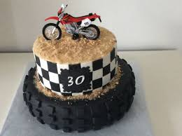 Motorcross Cake Honda Torta De Motos Pastel De Moto Tortas