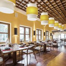 drum pendant lighting hotels and