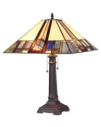crafts gaheris stained glass table lamp