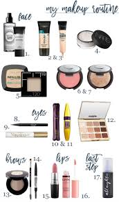 my updated makeup routine life with emily