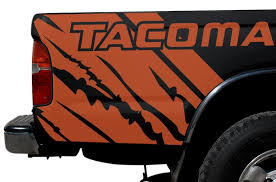 Toyota Tacoma 1995 2004 Custom Vinyl Decal Wrap Kit Tacoma Quarter Factory Crafts