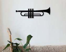 Trumpet Wall Art Etsy