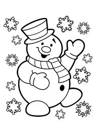 Kleurplaat Sneeuwpop Gratis Kleurplaten Om Te Printen