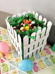 Diy Popsicle Sticks Picket Fence Basket Diyspins