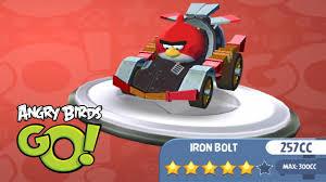 Angry Birds Go iPad Gameplay #9 - Iron Bolt 257 CC Kart Fully ...