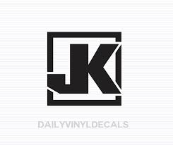 Jeep Jk Decal Jeep Jk Sticker Jeep Decals Jeep Stickers Jk Model Jeep Wrangler Decal Off Road Truck Decals Vehicle Stickers
