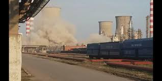 VIDEO. Un turn de răcire din interiorul Rafinăriei Lukoil a fost demolat | Ziarul INCOMOD