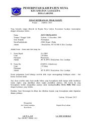 Contoh Surat Keterangan Tidak Mampu Dari Desa Ketua Rw Ketua Rt Contoh Surat