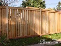 Classic Framed Series Wood Fence Design Backyard Fences Privacy Fence Designs