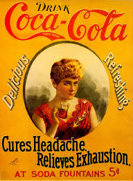 Cures Headache, Relieves Exhaustion (with Hilda Clark) 1890s ...