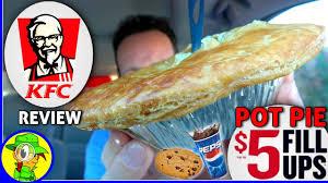 kfc pot pie 5 fill ups food