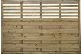 4ft High 1 2m Forest Europa Kyoto Fence Panel Flat Top With Integral Trellis Elbec Garden Buildings