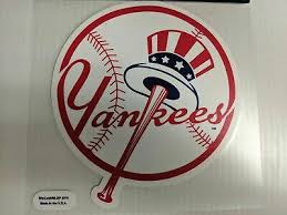 Mlb Fan Apparel Souvenirs New York Yankees Mlb Baseball Lic Rico Decal Colorful Die Cut Sticker 5 X5 Plus Sports Memorabilia Fan Shop Sports Cards Cub Co Jp
