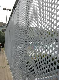 Perforated Metal Fence Protective Fence Burglar Fence Perforated Metal Mesh Fence Customer Choose First Topnetting