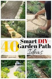40 smart diy garden path ideas the