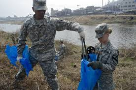 Cav Soldiers go green for community projects | Article | The United States  Army